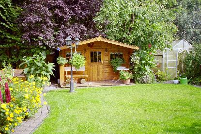 Garten Des Hauses